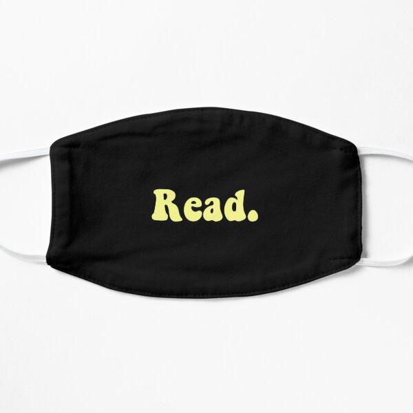 Read groovy yellow Flat Mask