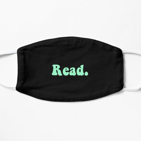 Read groovy mint Flat Mask