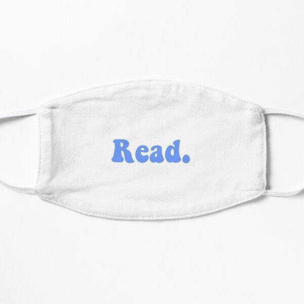 Read groovy blue Flat Mask