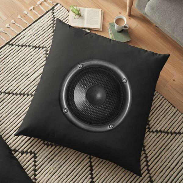 Music Speaker Floor Pillow