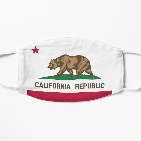 Show off your colors - California Flat Mask