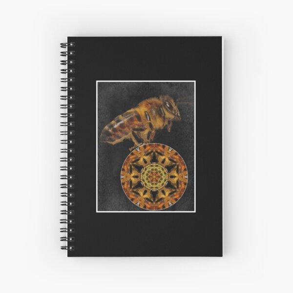 bee mandala Spiral Notebook