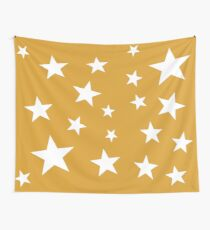 Star Spangled Gold Wall Tapestry