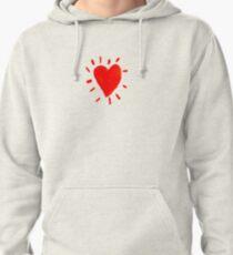Heart Pullover Hoodie