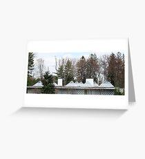 Mid Century Modern - Celanese House Greeting Card