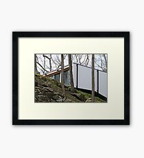 Mid Century Modern - Parsons House Framed Print