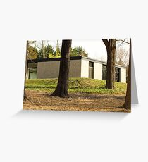 Mid Century Modern - Hodgson House Greeting Card