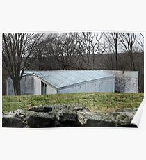 Mid Century Modern - Sculpture Gallery, Philip Johnson Poster