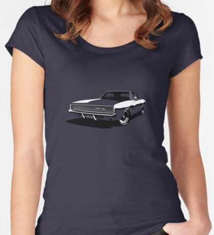 Dodge Charger Women's Fitted Scoop T-Shirt
