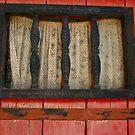 rustic window pane by Cheryl Ribeiro