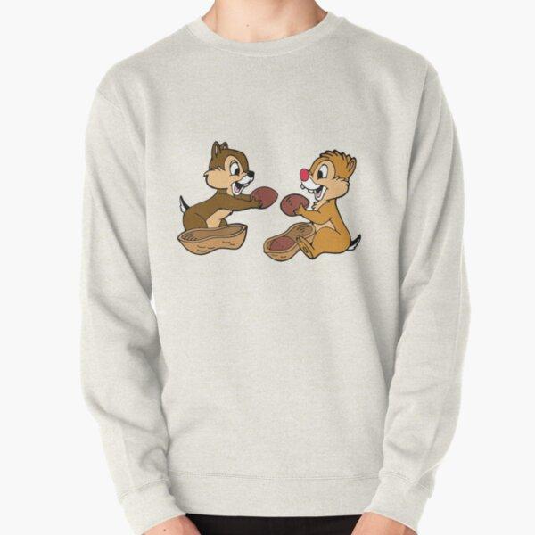 Chip n Dale peanut Pullover Sweatshirt