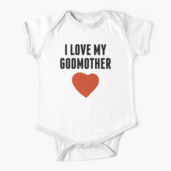 I/'m Cool Just Like My GodMother Baby Romper