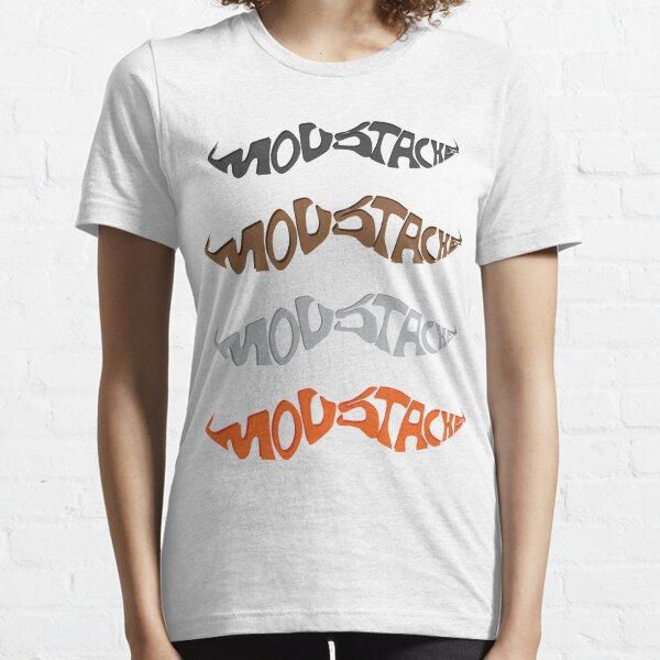 Moustache Text art Essential T-Shirt
