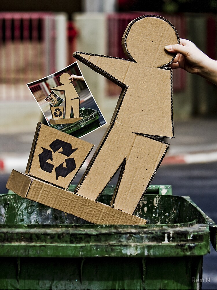 Recycling by Rem N
