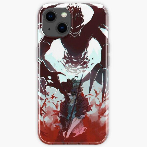 Demon antimagic Asta iPhone Soft Case