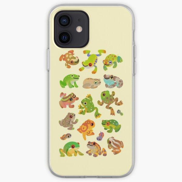 Rana de árbol Funda blanda para iPhone
