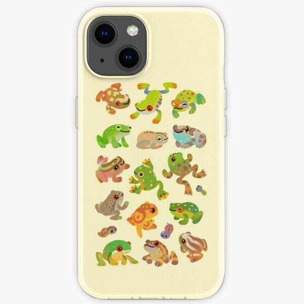 Tree frog iPhone Soft Case