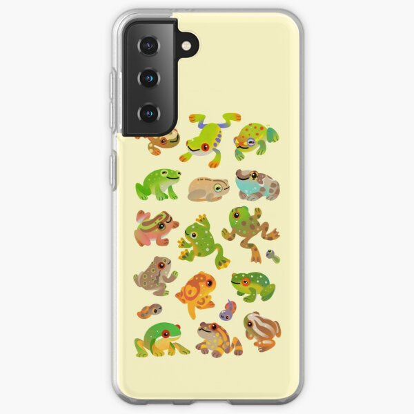 Tree frog Samsung Galaxy Soft Case