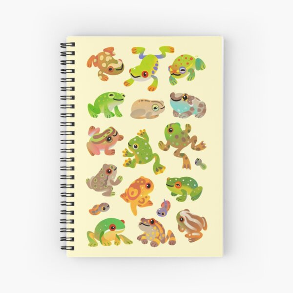 Tree frog Spiral Notebook