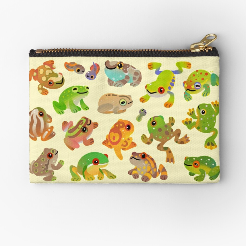 Tree frog Zipper Pouch