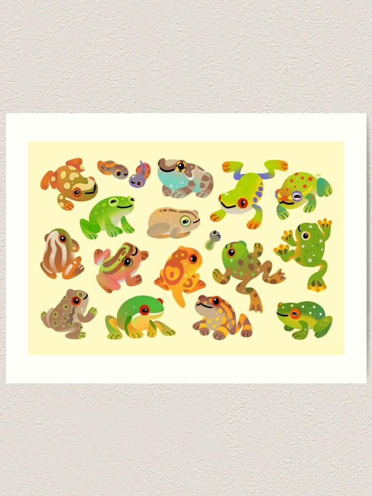 Alternate view of Tree frog Art Print