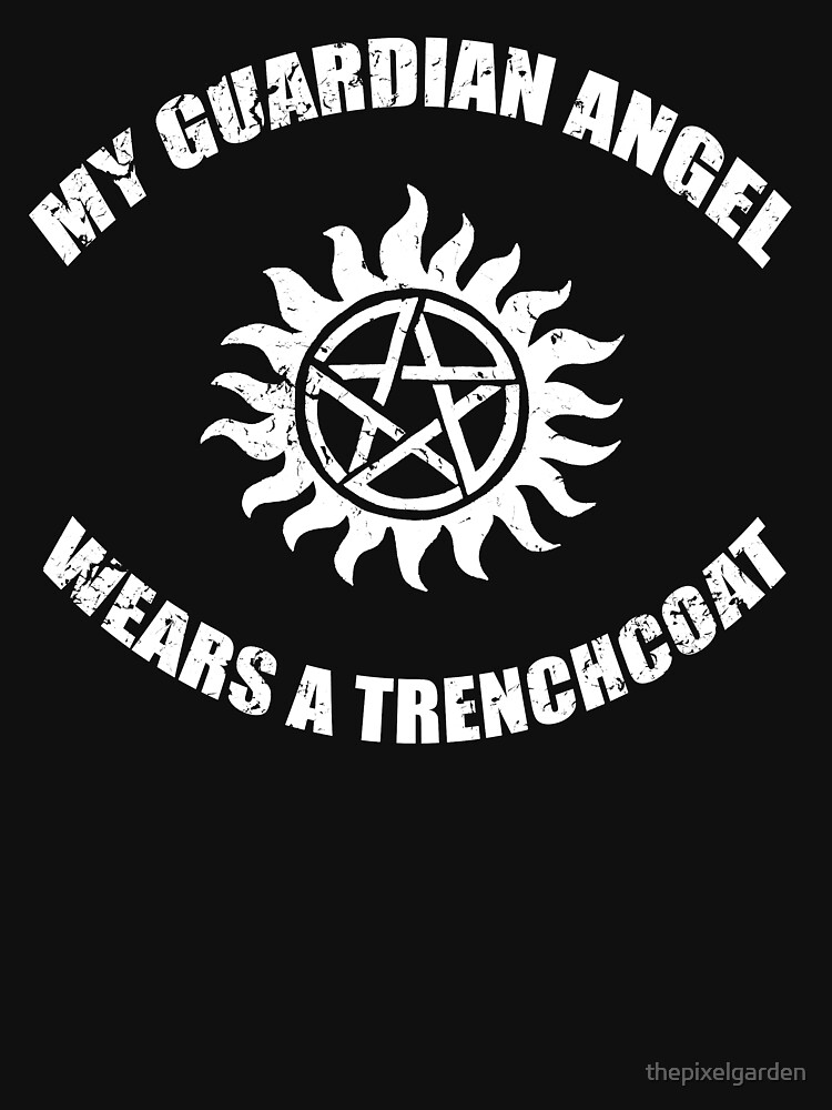 Supernatural Castiel Guardian Angel | Unisex T-Shirt