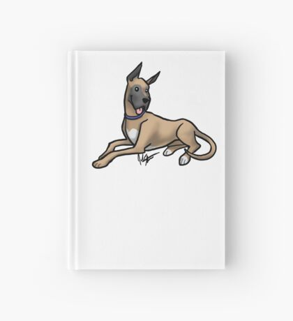 Great Dane Hardcover Journal
