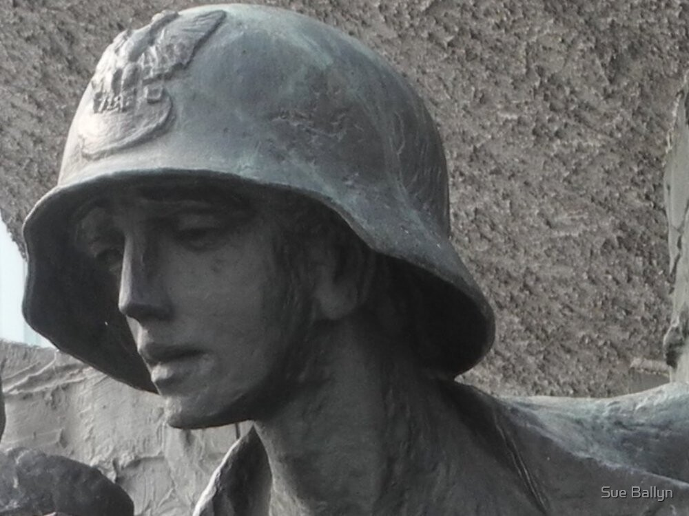 Warsaw Uprising Memorial by Sue Ballyn