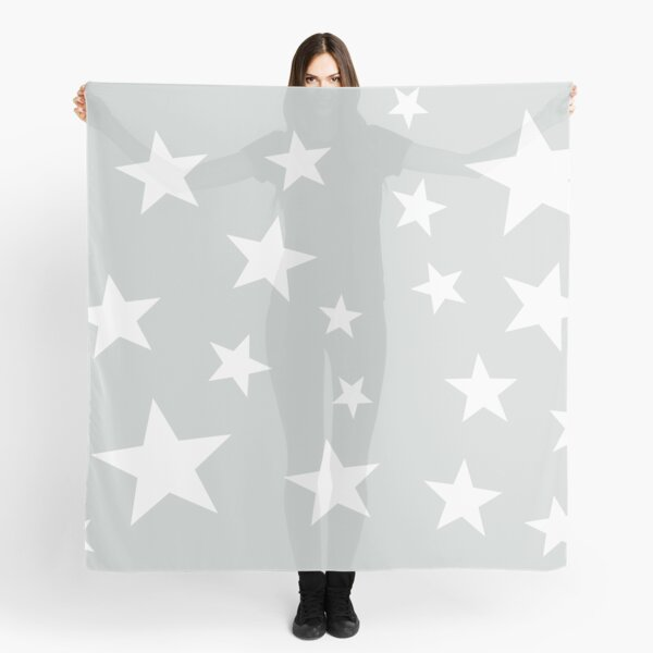 Star Spangled Grey Scarf