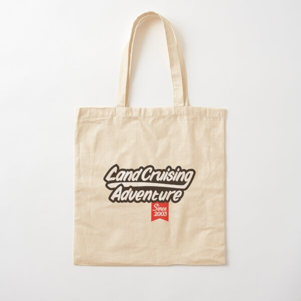 Landcruising Adventure since 2003 Cotton Tote Bag