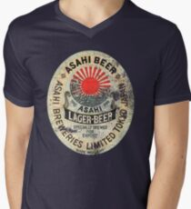 japanese beer Men's V-Neck T-Shirt