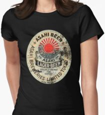 japanese beer Womens Fitted T-Shirt