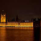 Palace of Westminster, London, UK by strangelight
