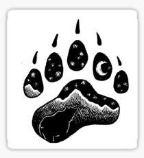Goodnight Bear Sticker