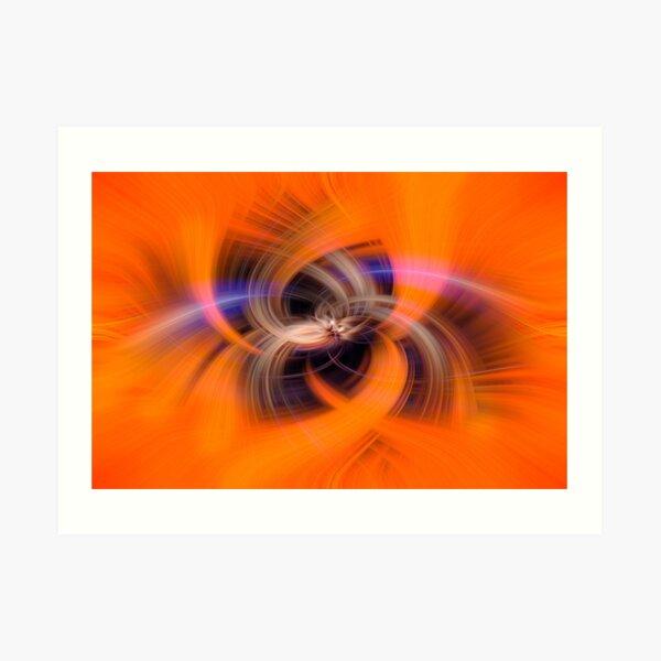 Maybe Orange wormholes exist Art Print