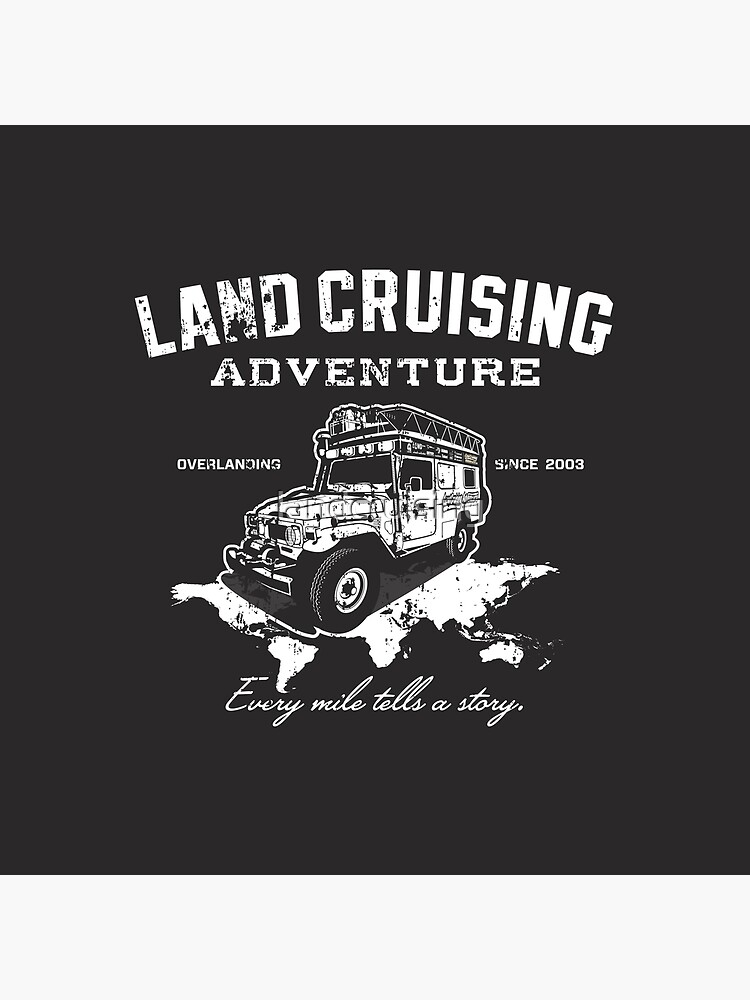 Every Mile Tells a Story - pure white by landcruising