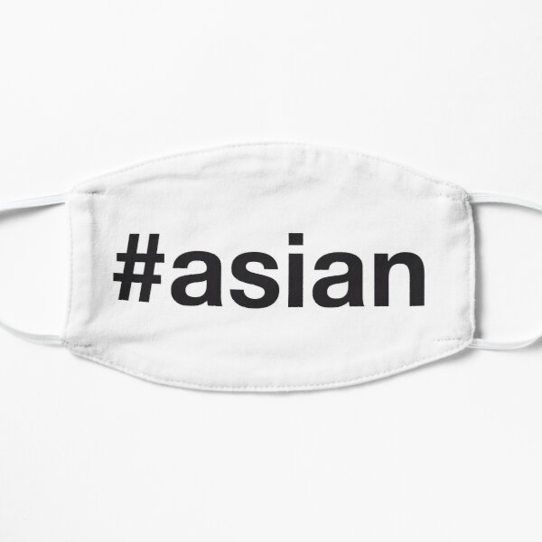 ASIAN Hashtag Mask