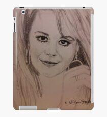 Natalie, Hoops iPad Case/Skin