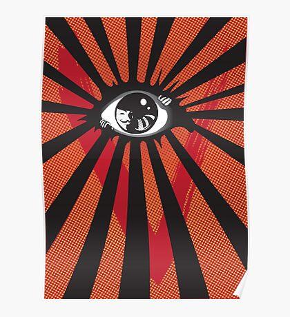 VENDETTA alternative movie poster eyeball print Poster