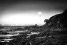 Moonrise on Good Friday, Emerald Beach NSW, Australia by Normf