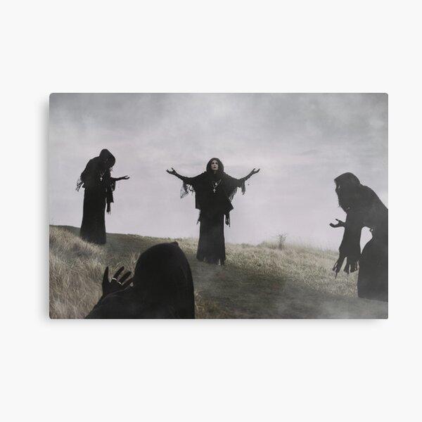 'Maiden of the Sabbat' Metal Print