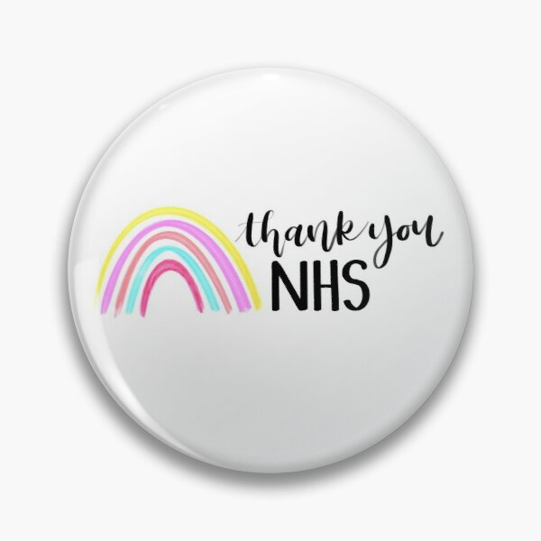 Thank You NHS Rainbow - All Proceeds to Charity Pin