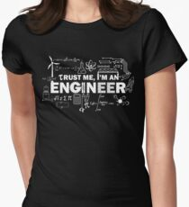 Trust Me I'm An Engineer Women's Fitted T-Shirt