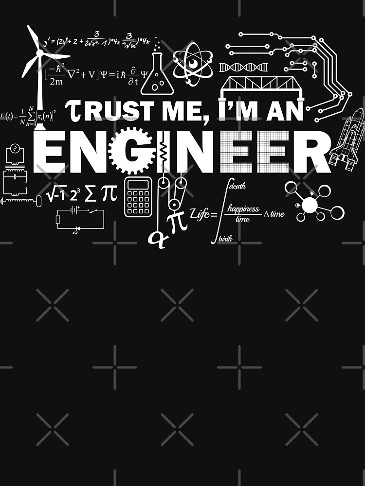 TShirtGifter presents: Trust Me I'm An Engineer | Unisex T-Shirt