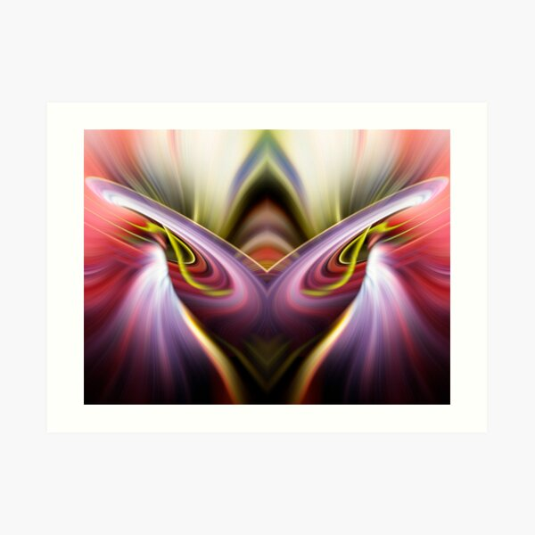 Maybe you see flames burning in a chalice Art Print