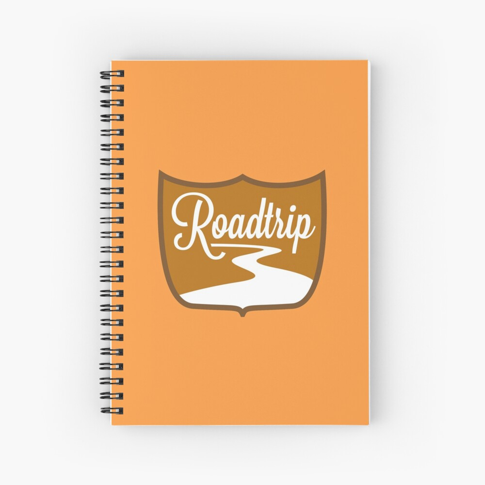 Roadtrip Spiral Notebook