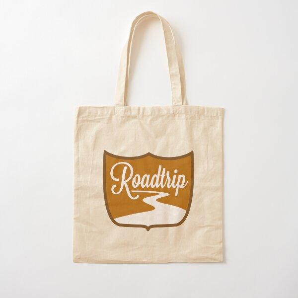 Roadtrip Cotton Tote Bag