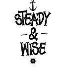 STEADY&WISE (white) by robay