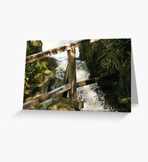 The force of water II Greeting Card