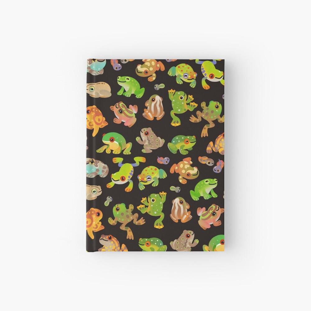 Tree frog - dark Hardcover Journal